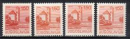 Yugoslavia,Tourist Motives Mi 1662A/C 1976.,complete Edition,MNH - Unused Stamps