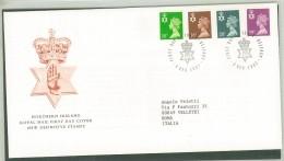 FDC IRELNAD - IRLANDA - ANNO 1991 - ROYAL MAIL -  NORTHERN IRELAND - BELFAST - - FDC