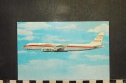CP,  AVIONS, Aviation - Avion - Douglas DC-8 Turbofan - Iberia - 1946-....: Moderne