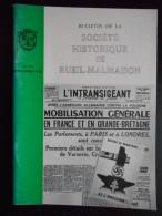 """""""Bulletin De La Société Historique De Rueil Malmaison"""" N°19 Décembre 1994 - Histoire"""