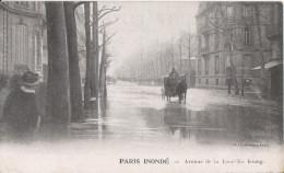 75 Paris Inondation 1910   Avenue De La Tour Ma Bourg - Inondations De 1910