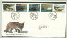 FDC SCOTLAND - SCOZIA -  ANNO 1992 - ROYAL MAIL - EDINBURGH - WINTERTIME - ANIMALI - ANIMALS - INVERNO - - FDC