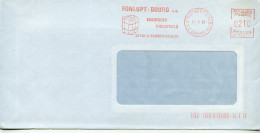 EMA Santé,pollution,éponge,essuyages Industriels Fonlupt-Bourg SA,26 St Rambert D'Albon,Drone,lettre 11.2.1985 - Pollution