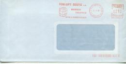 EMA Santé,pollution,éponge,essuyages Industriels Fonlupt-Bourg SA,26 St Rambert D'Albon,Drone,lettre 11.2.1985 - Umweltverschmutzung