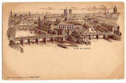 """Cpa   Paris    Cité De Paris  ( Imprimé à L'exposition Pr La """"Bénédictine"""" ) - Mostre"""