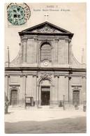 Cpa   Paris    Eglise Saint Thomas D´Aquin     TBE - Churches