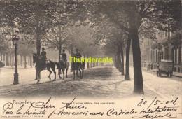 CPA BRUXELLES NELS SERIE 1 No  369 AVENUE LOUISE ALLEE DES CAVALIERS - Avenues, Boulevards