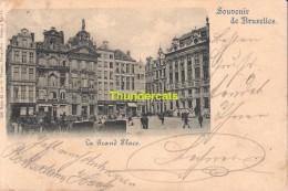 CPA BRUXELLES NELS SERIE 1 No  11 LA GRAND PLACE - Places, Squares