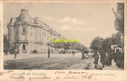 CPA BRUXELLES NELS SERIE 1 No 37 AVENUE LOUISE - Avenues, Boulevards