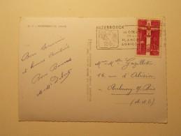 Marcophilie - Lettre Enveloppe Cachet Oblitération Timbres - FRANCE - CPSM Hazebrouck -  (265) - Marcophilie (Lettres)