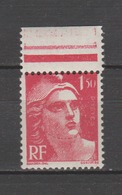 FRANCE / 1945 / Y&T N° 712 ** : Gandon 1F50 BdF - Gomme D'origine Intacte - France