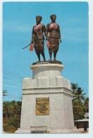 Thailand - Memorial Statue - Stamp - Postcards