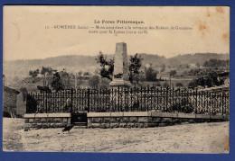 42 GUMIERES Monument élevé à La Mémoire Des Enfants De Gumières Morts Pour La France 1914-1918 - Andere Gemeenten