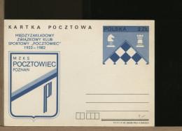 POLSKA -  SCACCHI - SZACHOWY - CHESS - ECHECS - SCHACH - Scacchi