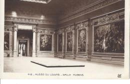 Cp Musée Du Louvre Paris SalleTableau Peinture  RUBENS Pierre Paul  / Femme Dé Nue Dé Seins Nus - Tableaux