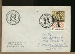 MAGYAR - BUDAPEST 1978 -  SCACCHI - SZACHOWY - CHESS - ECHECS - SCHACH - Scacchi