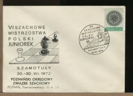 POLSKA -SZAMOTULY - Campionato Juniores -  SCACCHI - SZACHOWY - CHESS - ECHECS - SCHACH - XADREZ - Scacchi