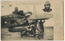 Experience Parachute Jean Ors Aeroplane Piloté Par Lemoine - Paracaidismo