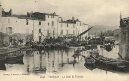 96413 - Martigues (13) Le Quai De Brescon - Martigues