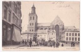 Tienen: Kerk Van Den H.Gemanus. Café De La Paix. - Tienen