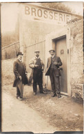 CARTE PHOTO - NON SITUEE-  BROSSERIE - Marchands