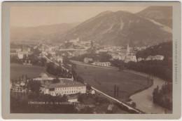 CDV CABINET. LOURDES. BASILIQUE. PHOT VIRON à LOURDES - Old (before 1900)