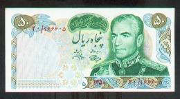 Iran 50 Rials (1971) Pick 97b UNC - Iran