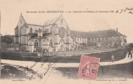 ENV. DE STE MENEHOULD - LA CHALADE, LE CLOITRE, LE COUVENT 1720 - BELLE CARTE AVEC PETITE ANIMATION -  TOP !!! - France