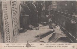 75 Paris Rue De La Banque Terrasse Endommagee - Other