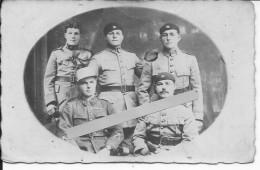 1927-1932 Syrie Liban Levant Soldats Du 8ème AMC Et Du 513ème RCC Chars équipage Blindés Cavalerie 1 Carte Photo - War, Military