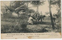 Manege Aeroplane Construit Par Poilus Guerre 1914 Merry Go Round Buit By Soldiers WWI ND De Lourdes Dunkerque - Cartes Postales