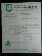 J. Philips - Glazer Dendermonde   Termonde Dekens - Dweilen - Vaatdoeken - Katoen  R.T.T - 1950 - ...