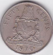 BERMUDES - PIECE 50 CENTS - 1970 - Bermudas