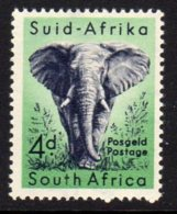 South Africa 1954 4d Elephant Definitive, MNH (SG 156) - South Africa (...-1961)