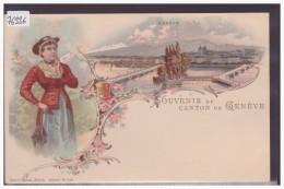 GENEVE -  LITHO - TB - GE Genève