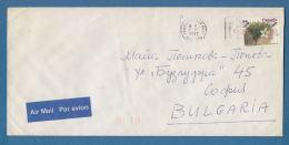 "207409 / 1992 - 84 C. -  Stanley Plum Tree ,  FLAMME "" OLYMPIC GAME Sponsor "", Canada Kanada - Lettres & Documents"