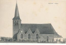 MAULDE / TOURNAI / L EGLISE ET LE CIMETIERE - Tournai