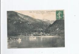 AIGUEBELETTE (SAVOIE) 2296 BORDS DU LAC D'AIGUEBELETTE LE GRUY ET LA POINTE A MICHELON - Autres Communes