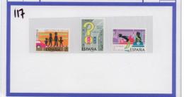 T117 Spagna 1976 Spain Sicurezza Stradale Cinture Di Sicurezza Road Safety Safety Belt Famiglia Family ** - Incidenti E Sicurezza Stradale