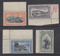 Belgisch Congo 1921 Luchtpost PA1/PA4 ** Mnh (some Brown Spot On 2 Values) (29240) - Belgisch-Kongo