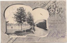 Gruss Von Der Kronenburg Dortmund Tennisplatz 1901 - Dortmund