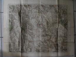 Carte Algérie Constantine Sidi Dris. 1902. Annotations - Topographical Maps