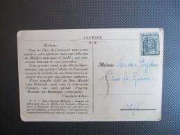 PREO Brussel 1926 Op PK - 1922-1927 Houyoux