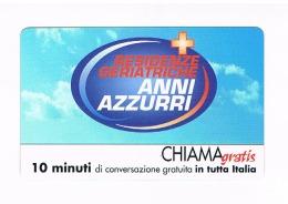 CHIAMAGRATIS -  ANNI AZZURRI: RESIDENZE GERIATRICHE   (TIR.5000)      -  NUOVA   (RIF.CP) - Italia