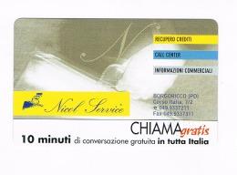 CHIAMAGRATIS -  NICOL SERVICE - BORGORICCO (PD)  (TIR.5000)      -  NUOVA   (RIF.CP) - Italia