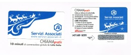 CHIAMAGRATIS -  SERVIZI ASSOCIATI: SLITTA  (TIR.5000)      -  NUOVA   (RIF.CP) - Italia