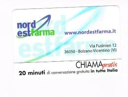 CHIAMAGRATIS -  NORD EST FARMA: BOLZANO VICENTINO (VI)  (TIR.6000)      -  NUOVA   (RIF.CP) - Italia