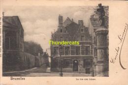 CPA BRUXELLES NELS SERIE 1 No 138 LA RUE AUX LAINES - Avenues, Boulevards