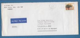 207438 / 1988 - 88 C. -  Westcot Apricot Tree  FORT ERIE - SOFIA , Canada Kanada - Lettres & Documents