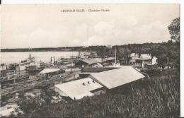 CPA - Congo Belge - Leopoldville - Chantier Chanic - Kinshasa - Léopoldville